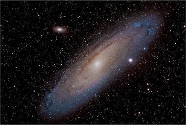 Galaxie v Andromedě A - 20x30 - plátno