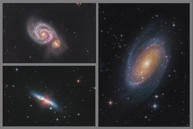 Kolekce galaxií A - 60x90 - plátno