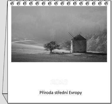Kalendář stolní Příroda střední Evropy 2021 A