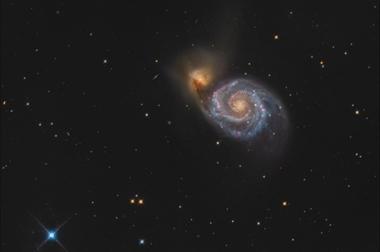 Vírová galaxie (M51) B - 60x90 - plátno
