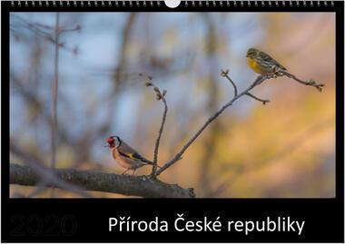Kalendář A4 Příroda České republiky 2021 C