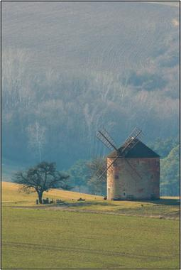Větrný mlýn A - 40x60 - plátno