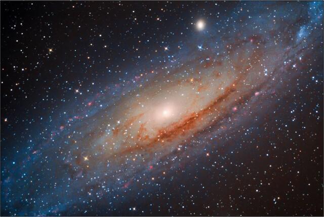 Galaxie v Andromedě A - 60x90 - plátno