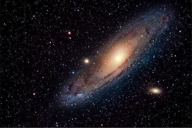 Galaxie v Andromedě B - 40x60 - plátno