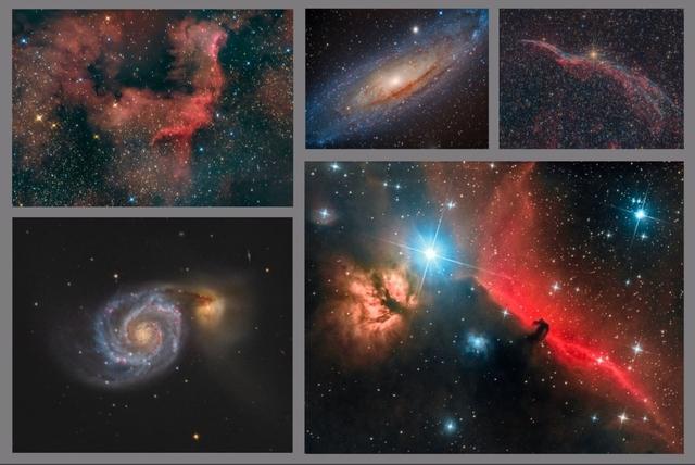 Kolekce Barevný vesmír C - 60x90 - plátno
