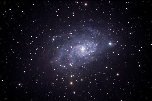 Galaxie v Trojúhelníku A - 20x30 - plátno