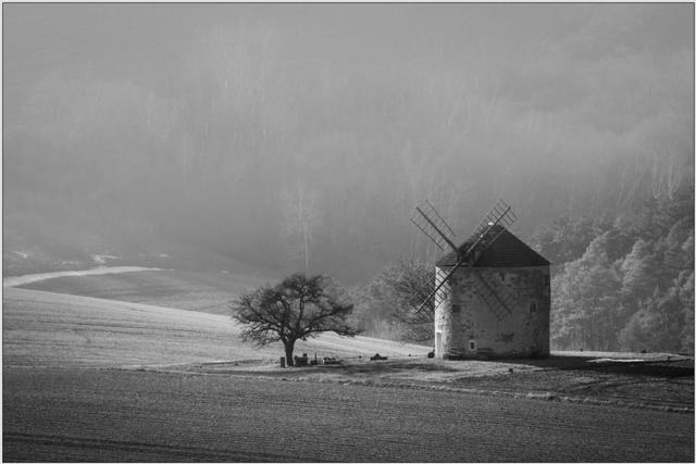 Větrný mlýn B - 40x60 - plakát