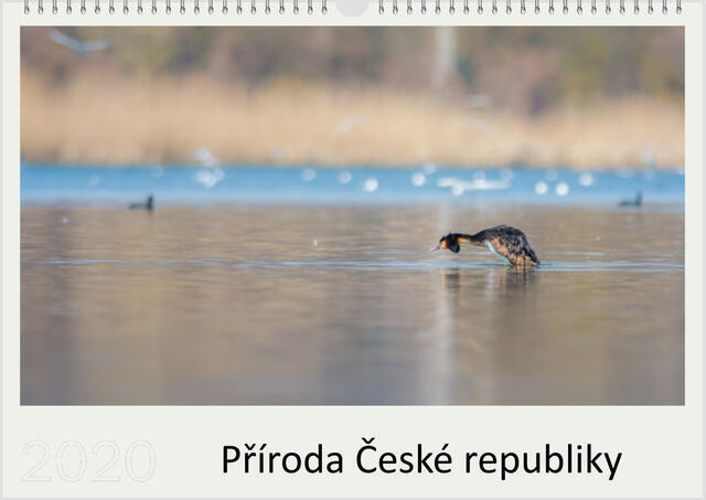 Kalendář A3 Příroda České republiky 2021 B - 1