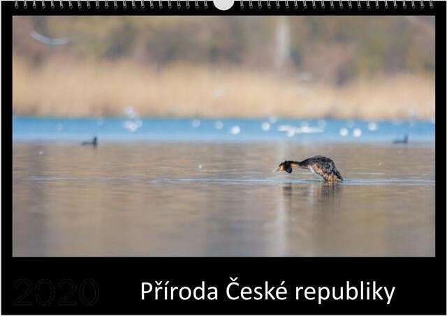 Kalendář A4 Příroda České republiky 2021 A - 1