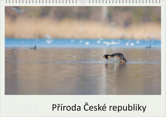 Kalendář A4 Příroda České republiky 2021 B - 1