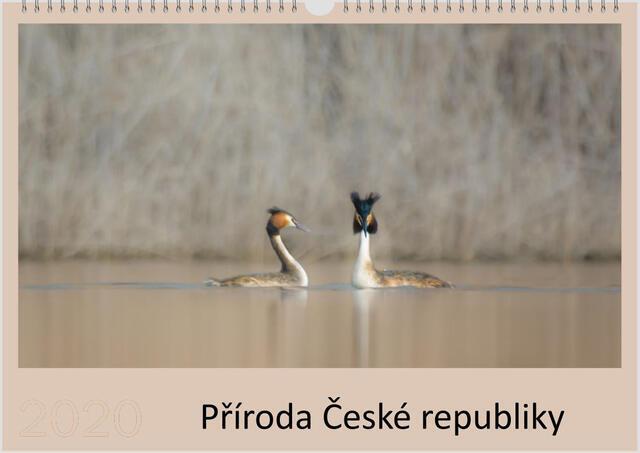 Kalendář A4 Příroda České republiky 2022 F - 1