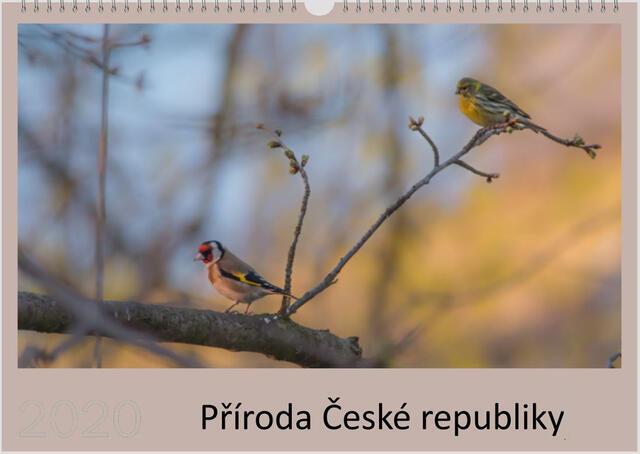 Kalendář A3 Příroda České republiky 2022 D - 1