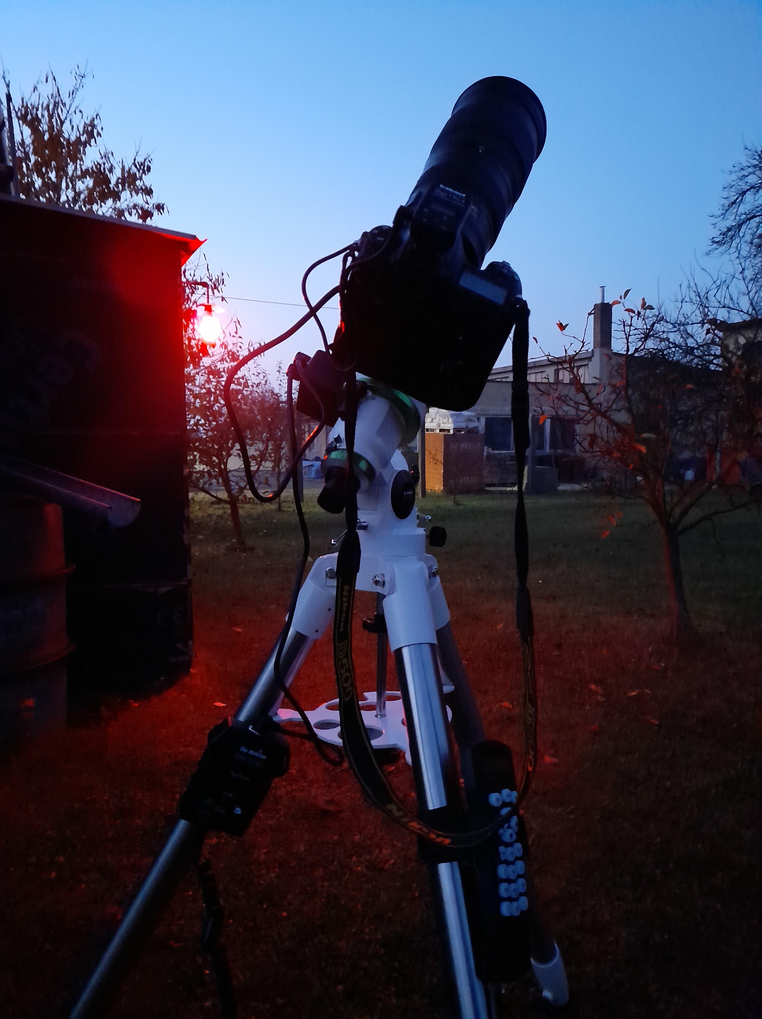 Montáž pro astrofoto