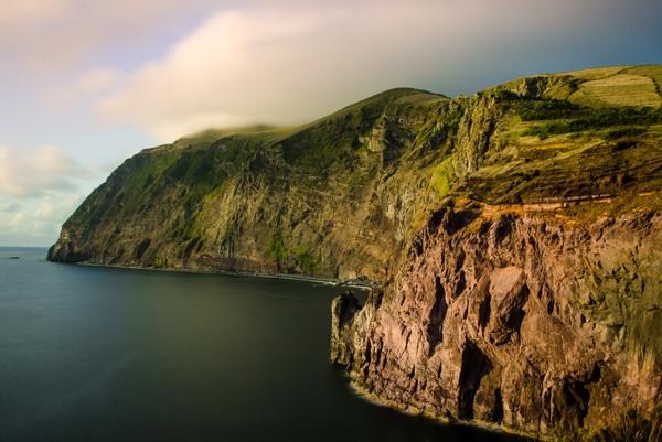 Západní útesy ostrova Corvo