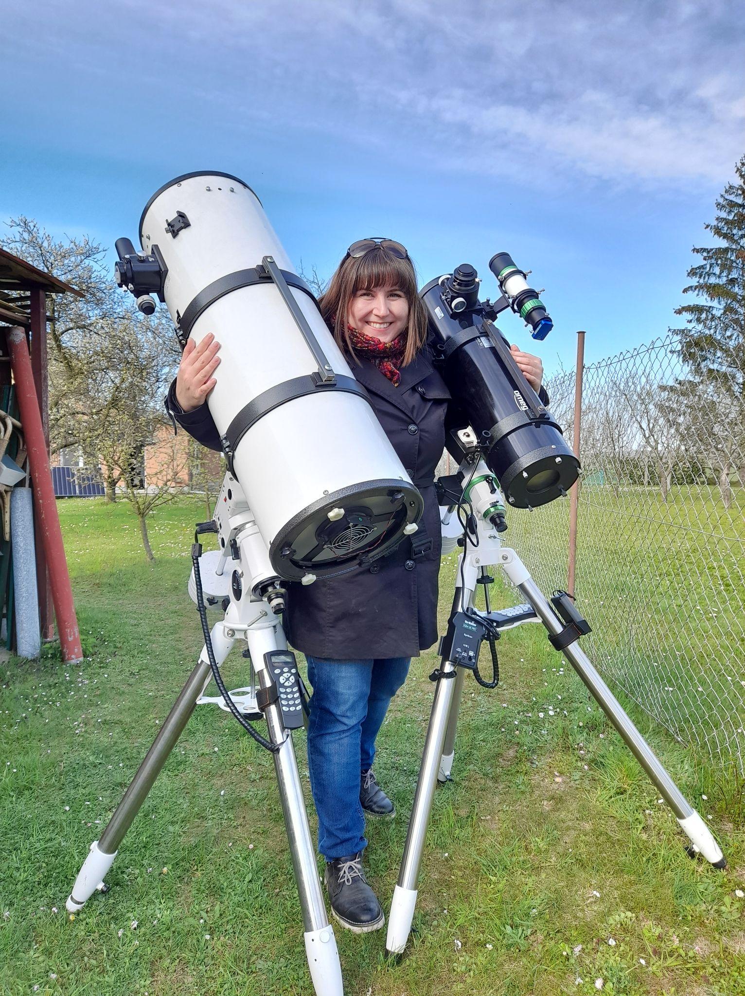 Dva teleskopy