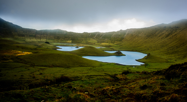 Kaldera ostrova Corvo