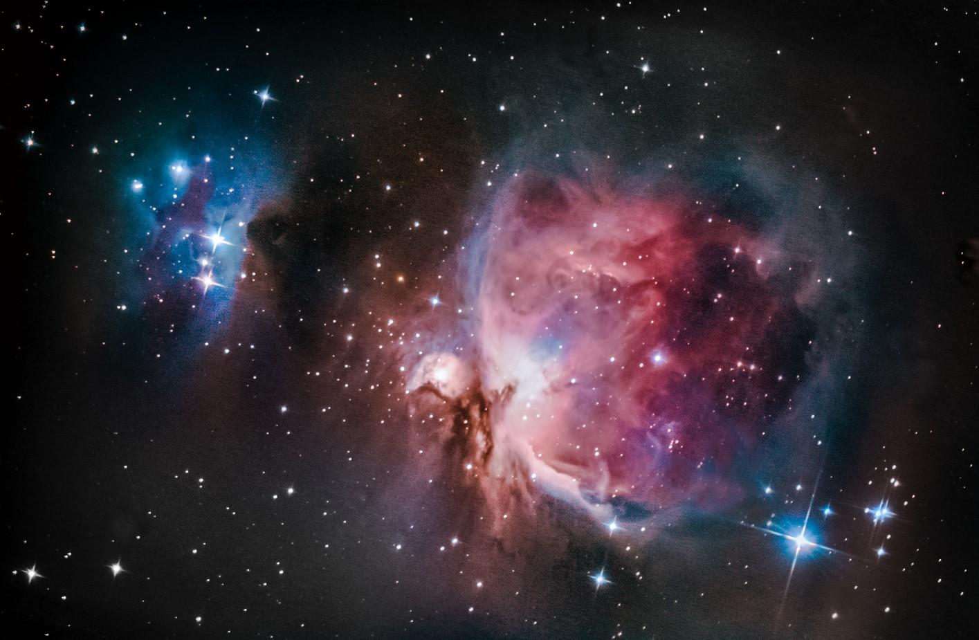 M42 - Mlhovina v Orionu