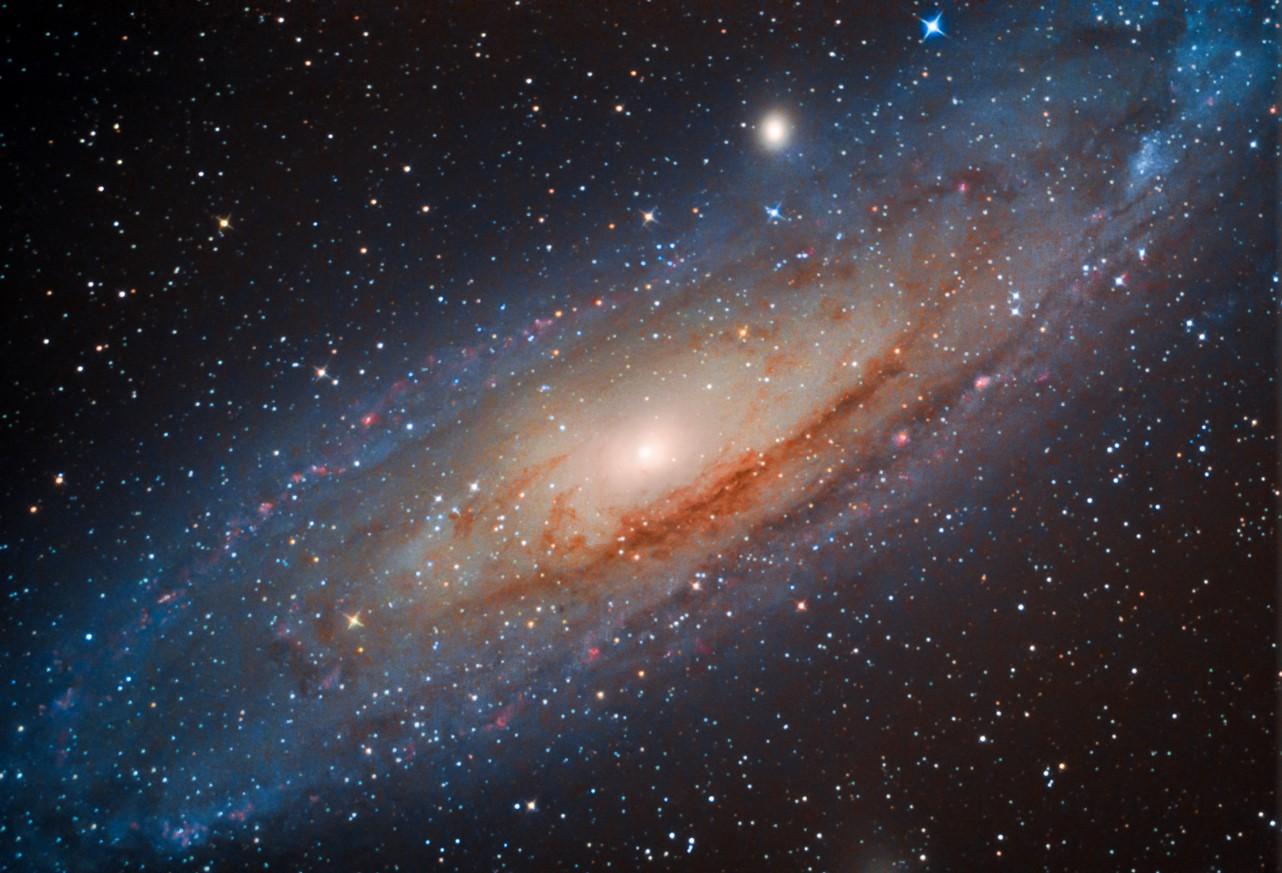 Galaxie v Andromedě