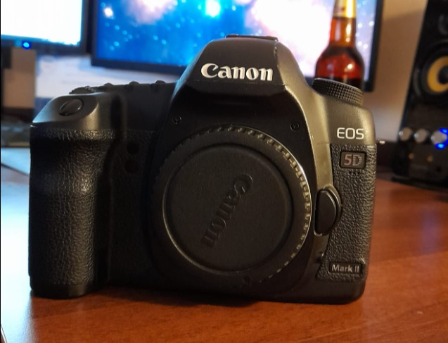 Canon D Mark II modifikovaný