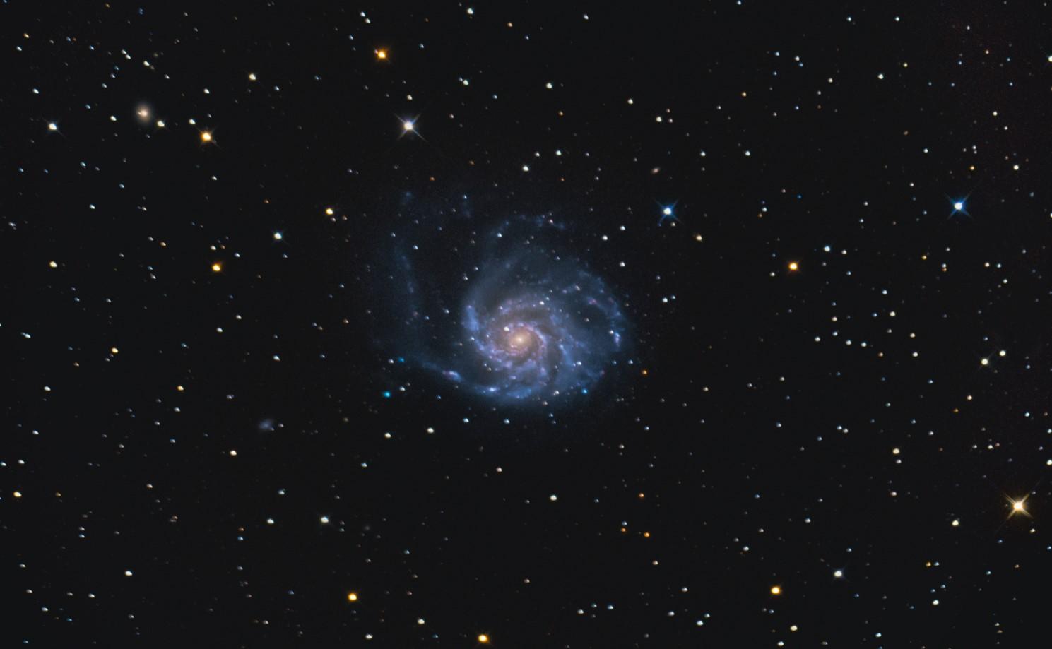 M101 - Galaxie Větrník
