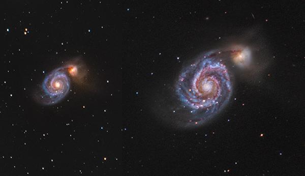 Srovnání teleskopů 3